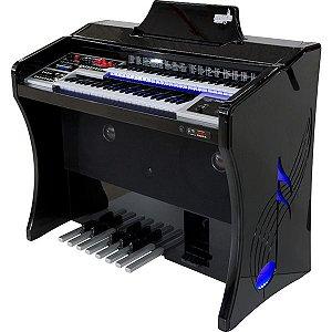 Órgão Harmonia HS 200 Super Preto Laqueado