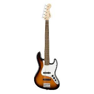 Contrabaixo Squier Affinity J. Bass V LR Brown Sunburst