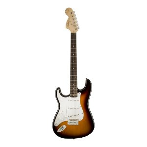 Guitarra Squier Affinity Strato LH LR Brown Sunburst