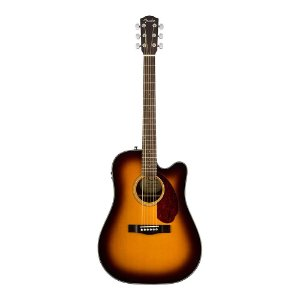 Violao Fender Dreadnought Com Case CD 140 SCE Sunburst