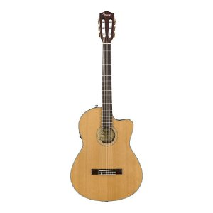 Violao Fender Thinline Nylon Com Case CN 140 SCE Natural