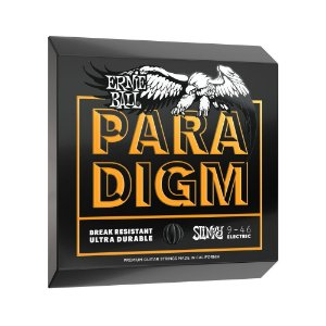 Encordoamento de Guitarra Ernie Ball 009. Paradigm Hybrid Slinky