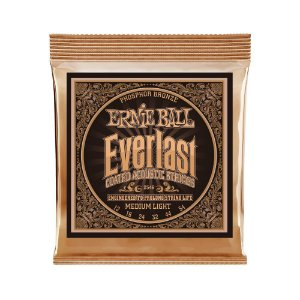 Encordoamento de Violão Ernie Ball 012. Everlast Phosphor M Light