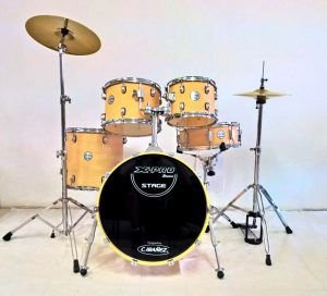 "Bateria Xpro Stage-Mad.Clara-T10/12""-S14""-B22"""