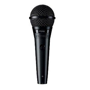 Microfone Mão Dinâmico Cardióide Shure PGA 58 LC
