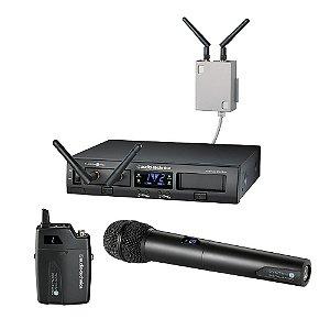 Sistema Microfone Audio Technica System 10 Pro ATW 1312/L