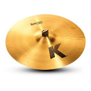 "Prato Zildjian K Series 20"" Dark Thin Crash"