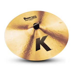 "Prato Zildjian K Series 17"" Dark Medium Thin Crash"