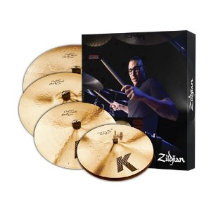 Kit de Pratos Zildjian K Custom Dark Series