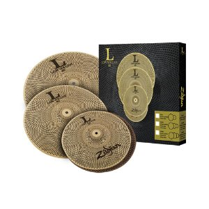 Kit de Pratos Zildjian Low Volume LV 468