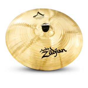 "Prato Zildjian A Custom 17"" Medium Crash"