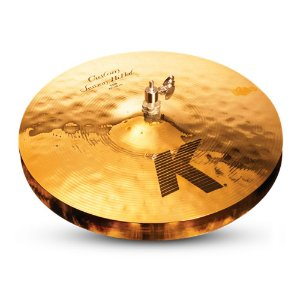 "Prato Zildjian K Custom 14"" Session Hi-Hat"