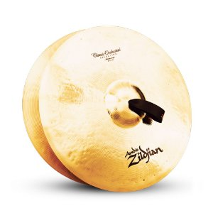 "Par de Pratos Zildjian Classic Orchestral Medium Light 20"" A0767"