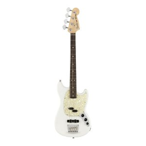 Contrabaixo Fender Am Performer Mustang Bass Rw Arctic White