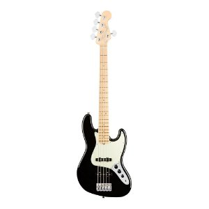 Contrabaixo Fender Am Professional Jazz Bass V Maple Black