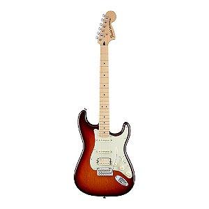 Guitarra Fender Deluxe Strat HSS MN Tobacco Sunburst