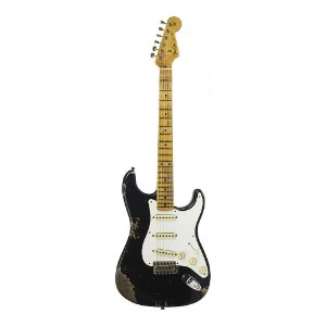 Guitarra Fender 58' Stratocaster Heavy Relic 2018 Collection Aged Black