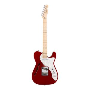 Guitarra Fender Deluxe Tele Thinline MN Candy Apple Red