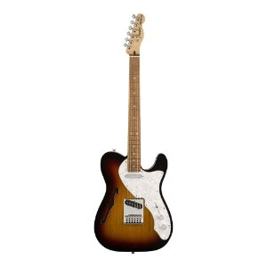 Guitarra Fender Deluxe Tele Thinline Pau Ferro 3 Color Sunburst