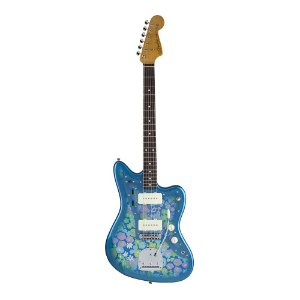 Guitarra Fender Japan Traditional 60's Jazzmaster Blue Flower