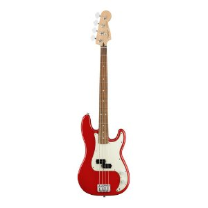 Contrabaixo Fender Player Precision Bass PF Sonic Red