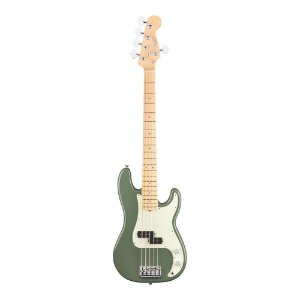 Contrabaixo Fender Am Professional Precision Bass V Maple Antique Olive