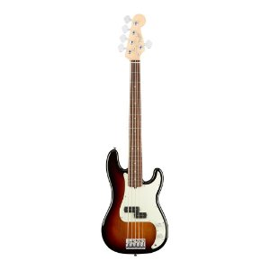 Contrabaixo Fender Am Professional Precision Bass V Rosewood 3 Color Sunburst
