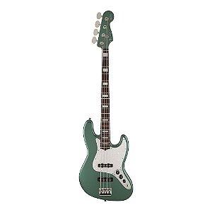 Contrabaixo Fender Sig Series Adam Clayton Jazz Bass Rw Sherwood Green Metallic