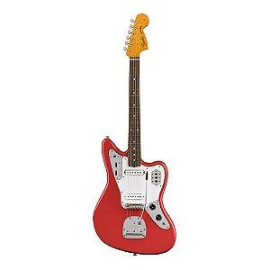 Guitarra Fender 60's Jaguar Lacquer PF Fiesta Red