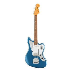 Guitarra Fender 60's Jaguar Lacquer PF Lake Placid Blue