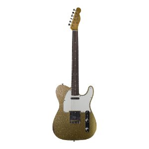 Guitarra Fender 60's Telecaster Custom Relic LTD Edition Faded Gold Sparkle