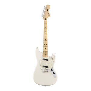 Guitarra Fender Offset Mustang MN Olympic White