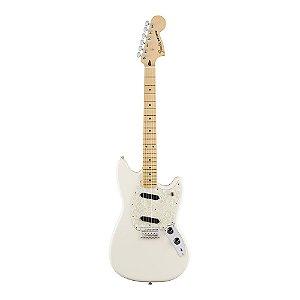 Guitarra Fender Offset Mustang MN Olympic White