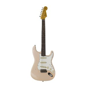 Guitarra Fender 64' Stratocaster Journeyman Relic LTD Edition S.F.Aged Shell Pink