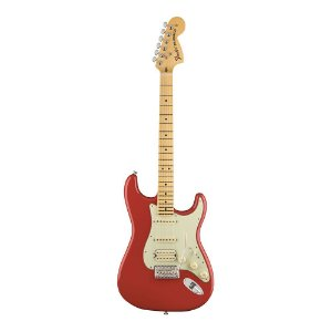 Guitarra Fender American Special Stratocaster HSS MN Fiesta Red