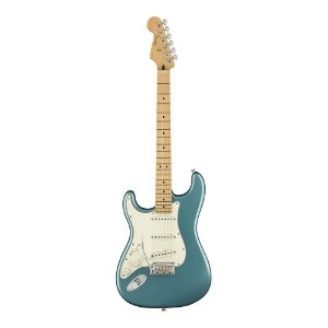 Guitarra Fender Player Stratocaster Canhota MN Tidepool