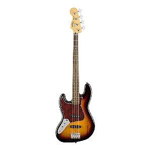 Contrabaixo Squier Vintage Modified J. Bass LR Canhoto 3 Color Sunburst