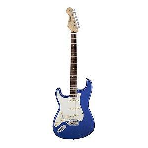 Guitarra Fender American Standard Stratocaster Canhota RW Mystic Blue