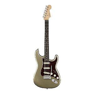Guitarra Fender American Elite Stratocaster Ebony Champagne