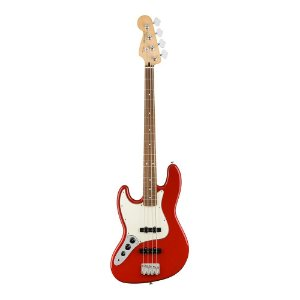 Contrabaixo Fender Player Jazz Bass Canhoto PF Sonic Red
