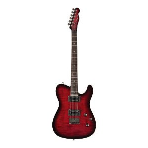 Guitarra Fender Custom Telecaster FMT HH Black Cherry Burst