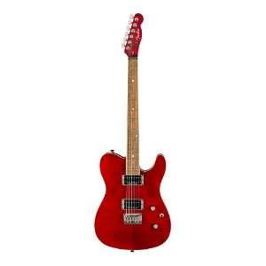 Guitarra Fender Custom Telecaster FMT HH Crimson Red Transparent
