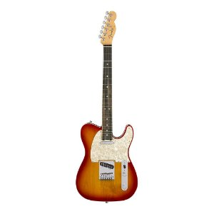 Guitarra Fender American Elite Telecaster Ebony Aged Cherry Burst