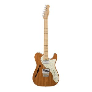 Guitarra Fender American Elite Telecaster Thinline Mahogany LTD Edition Natural