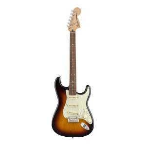 Guitarra Fender Deluxe Roadhouse Strat Pau Ferro 3 Color Sunburst