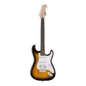 Guitarra Squier Bullet Strat HT HSS LR Brown Sunburst
