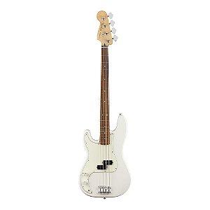 Contrabaixo Fender Player Precision Bass Canhoto PF Polar White