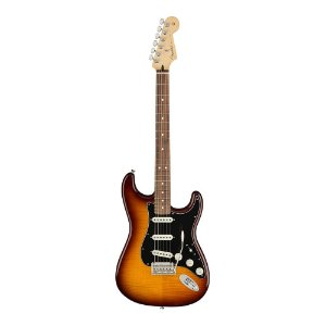 Guitarra Fender Player Stratocaster Plus Top PF Tobacco Burst