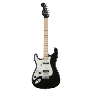 Guitarra Squier Contemporary Stratocaster HH Canhota MN Black Metallic