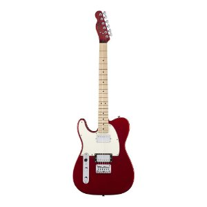 Guitarra Squier Contemporary Telecaster HH Canhota MN Dark Metallic Red